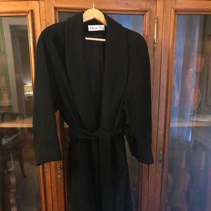 Vintage Christian Dior Loro Piana lambs wool  coat
